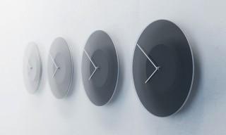 ミニマルデザイン×ギミック、時間と共に明暗が変化するやすらぎの時計「DUSK-ダスク-」