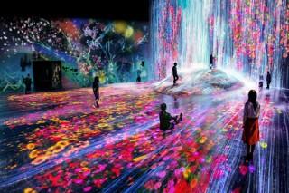 チームラボと森ビルが共同で本格的なデジタルアートミュージアムをオープン