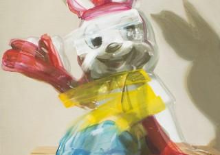 画家の熊倉涼子氏と彫刻家の永井天陽氏による2人展「DI-VISION/0」