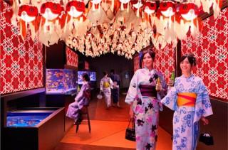 約1000匹の金魚を美しい空間に展示する夏祭り「東京金魚ワンダーランド2018」