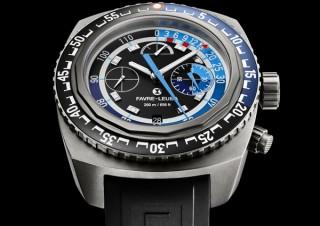 世界初!水深120mまで測定可能なダイバーズウォッチ「レイダー・バシィ120メモデプス」登場