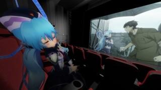 360Channel、上映中にキャラクターが隣にあらわれる「Anime VR SCREEN」チャンネル開設