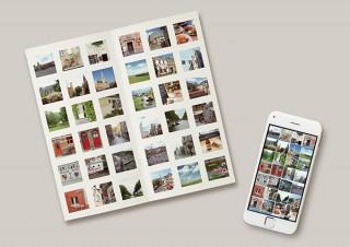 スマホやデジカメの画像を最大1100枚まで配置できるフォトブック「PhotoZINE SLIMタイプ」