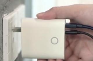 コンセントに直接挿して充電できるモバイルバッテリー「SOLOVE-W3」がクラファンに出品中