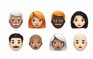 Apple、「世界絵文字デー」を祝い赤毛やハゲ頭等70以上の絵文字発表。今秋iOS/Macに追加