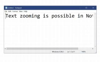 Windows10、次期アップデートで「メモ帳」機能の大幅強化が明らかに