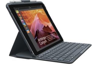 ロジクール、第5・6世代iPad対応Bluetoothキーボード一体型ケースの販売を発表