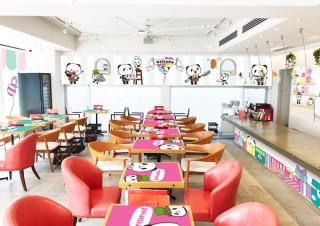 楽天、7日間の期間限定で「お買いものパンダCafé」をオープン