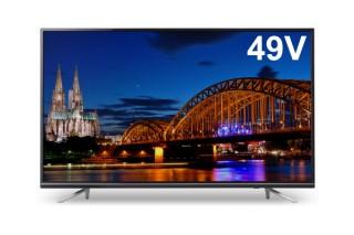 ゲオ、格安4K対応液晶TVの第3弾として49V型モデル「GH-TV49D-BK」を販売