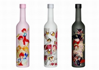 ドロンジョ様など日本を代表する3名のSEXY美女キャラクターが日本酒のラベルに