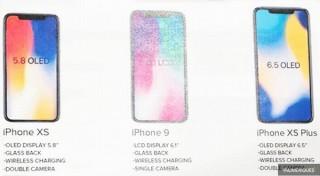 間もなく発表の2018年版iPhoneの名前、廉価版は「9」でハイエンドは「XS/XS Plus」か