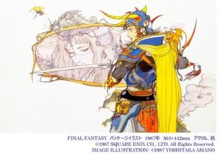 FFのイメージイラストで知られる天野喜孝氏の展覧会「FINAL FANTASYと天野喜孝の世界展」