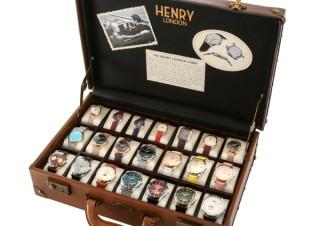 21種類のコレクションが一気に揃う「ヘンリー・ザ・ベスト」。伊勢丹新宿にて3セット限定販売