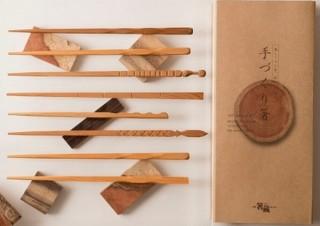 """長く使える""""箸""""を切って磨いて自分で作れる「手作り箸キット」、ヴィレヴァンから"""