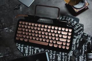 打鍵感まで再現したタイプライター風キーボード「Rymek(ライメク)」