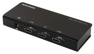 グリーンハウス、1台のHDMI機器からの映像を2台のディスプレイに映すスプリッターを発売