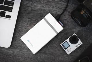 モバイルバッテリーにもなるワイヤレスドライブ「GOSPACE Lite」の支援募集が開始