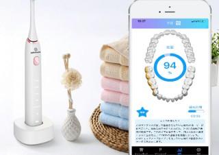 スマホアプリと連動して磨き残しを検知する「電動歯ブラシ」が登場