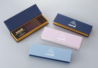 高級鉛筆のuni(ユニ)が発売60周年を記念して箔押し「uni 60th Anniversary」を発売