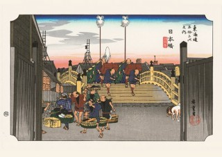 現在のデジタル印刷技術で再現した歌川広重の名作を楽しめる「浮世絵&古地図エスタンプ展」
