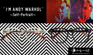 Zoff、アンディ・ウォーホルにインスパイアされた眼鏡「I'M ANDY WARHOL」を発売