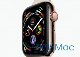 今秋発表予定の新型「Apple Watch Series 4」、画面大型化と画面解像度アップの情報