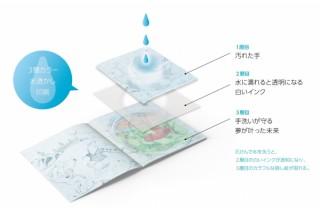 海外の広告賞で2つのブロンズ賞を獲得した石けんで洗って読む絵本「Washable Book」が面白い!