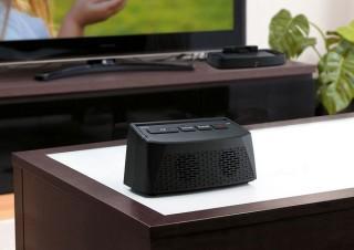サンワサプライ、面倒な設定不要で離れたTVの音を近くで聴けるワイヤレススピーカーを発売