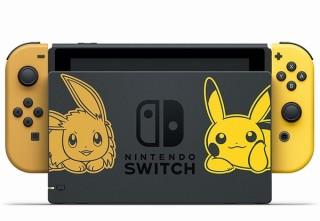 任天堂、ピカチュウ・イーブイカラーのJoy-ConなどがセットになったNintendo Switch発売