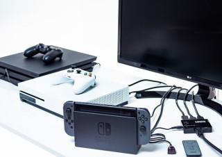 1台のテレビを最大3台の機器で共有できる「HDMI切替器」、上海問屋から