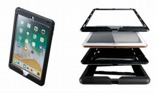 ハードとソフトの二重構造で9.7インチiPadを守る「耐衝撃ケース」、サンワサプライから