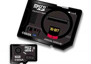 SEGAの歴代ゲーム機がモチーフになった「microSDHCカード+アダプタ」セットが登場