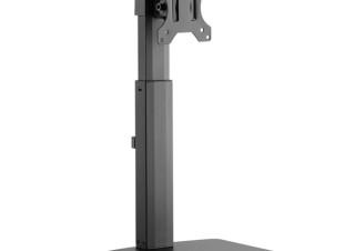 グリーンハウス、昇降機能が付いたスタンドタイプの液晶ディスプレイ用アームを発売
