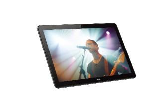 HUAWEI、高解像度の10.1型ディスプレイを搭載したタブレット「MediaPad T5」を発売