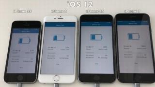 iOS12へのアプデ、iPhone7以前の人は様子見がオススメ。バッテリーが早くなくなる可能性