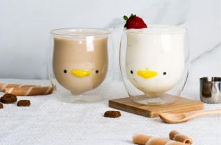 ティータイムに笑顔を運ぶダブルウォールグラス「GOODGLAS」は-20℃~120℃対応で何にでも使える