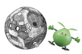 大河原邦男氏デザイン! 内部メカまで再現した「Figure-rise Mechanics ハロ」が2018年12月発売決定