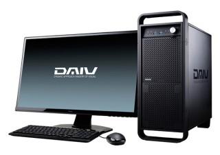 マウス、クリエイター向けパソコンブランド「DAIV」からGeForce RTX 2080搭載機を発売