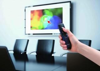 キヤノンMJ、スクリーンにカーソルを表示させる次世代「プレゼンテーションツール」発表