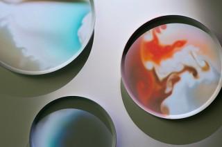 ミラノデザインウィーク2018に出展されたソニーデザインの展示が銀座ソニーパークで国内初披露