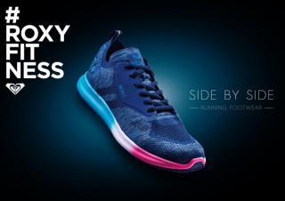 ROXYより、足の筋肉を効果的に使って走れるランニングシューズ「SIDE BY SIDE」発売