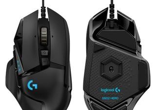 ロジクール、カスタマイズ可能な11ボタンを搭載した「G502 HERO ゲーミングマウス」を発売