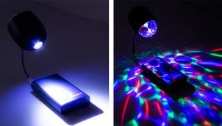 たったの740円! 通常空間を一瞬でパーティールームに変身させる「USB LEDパーティーライト」発売