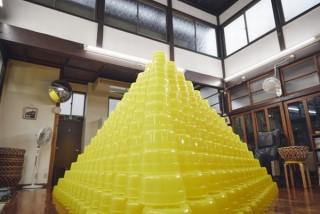 「ケロリン桶」の前衛アートなどが見られる「富山×銭湯PROJECT〜ケロリンミュージアム〜」