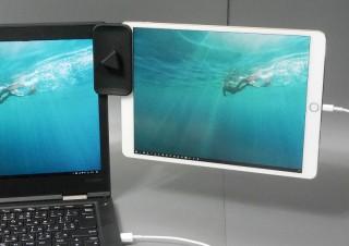 「iPadをサブディスプレイ化」をより快適にするタブレットクリップ