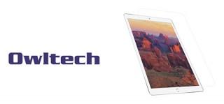 オウルテック、1.4mの高さから64gの鉄球を落としても割れないiPad画面保護シート発売
