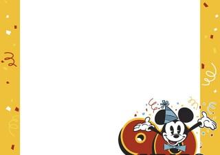 ディズニーリゾートライン、ミッキー90周年限定デザインのフリーきっぷ発売
