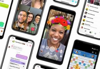 Facebookの「メッセンジャー」アプリ、9つのタブを3つにするなどシンプルデザインに刷新