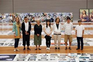 登竜門として恒例のキヤノンによる公募企画「写真新世紀」の2018年度の受賞作品展がスタート