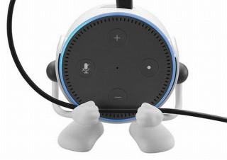 Amazonのスマートスピーカー「Echo Dot」を可愛いロボット風にできる専用ホルダー発売
